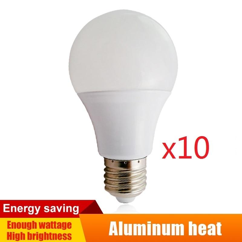 E27 LED Bulb 9W Warm White 60 SMD 2835 Corn Light Lamp 110-240V