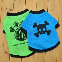 T-Shirt Dogs Chihuahua-Print Small Summer Fashion Green Letter Perro Pet-Dog Beautiful