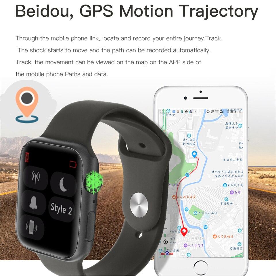 IWO 11 Смарт часы Bluetooth 1:1 серии 4 gps Inteligente Pulseira SmartWatch Android для IOS Upgrade IWO 10 9 8 7 6 5 - 2