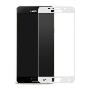 Image 3 - Vidrio Protector curvado para Samsung Galaxy A7 A3 A5 A6 A750 A8 2017 2018 J3 J5 J7 2016, cristal Protector de pantalla templado