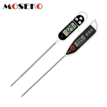Digital Food Thermometer BBQ Cooking Meat Hot Water Measure Probe Kitchen Tool TP300