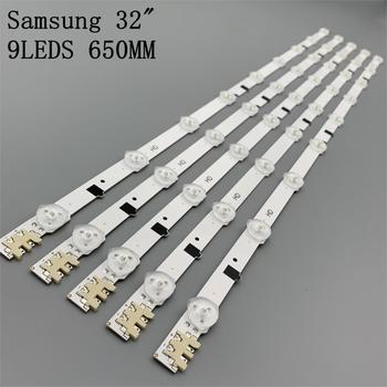 "5pcs/set  9LEDS 650MM New Led Backlight Strip For Samsung 32"" TV D2GE-320SC0-R3 2013SVS32H 2013SVS32F CY-HF320GEV5H"