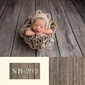 Image 2 - Fondale neonato per la Fotografia Del Bambino Doccia Festa di Compleanno Pavimento In Legno Foto di Sfondo per Bambini In Studio