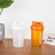 Новая бутылка для молочного коктейля, шейкер для протеинового порошка, бутылка для воды, спортивные бутылки 400 мл, чайник Hidro, фляжка, посуда для напитков, чашка для напитков, BPA бесплатно