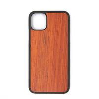 Apple 11 iPhone 11 Pro Max Wooden Cell Phone Shell Protective Sleeve Corner