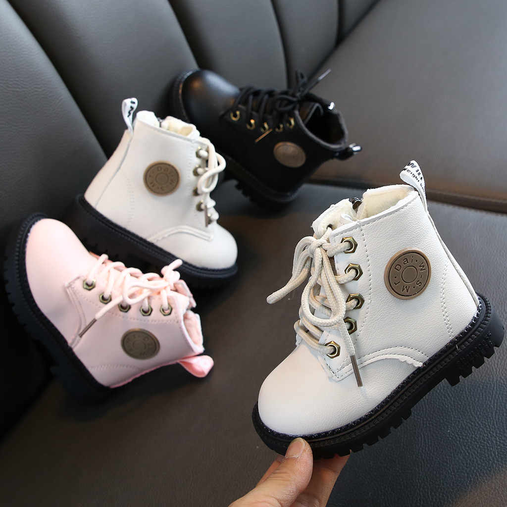 Kids Shoes Baby Girls Boots Boys Winter Boots Girls Ankle Sport Short Bootie Casual Shoes Kids Boots Jongenslaarzen Botas Nina