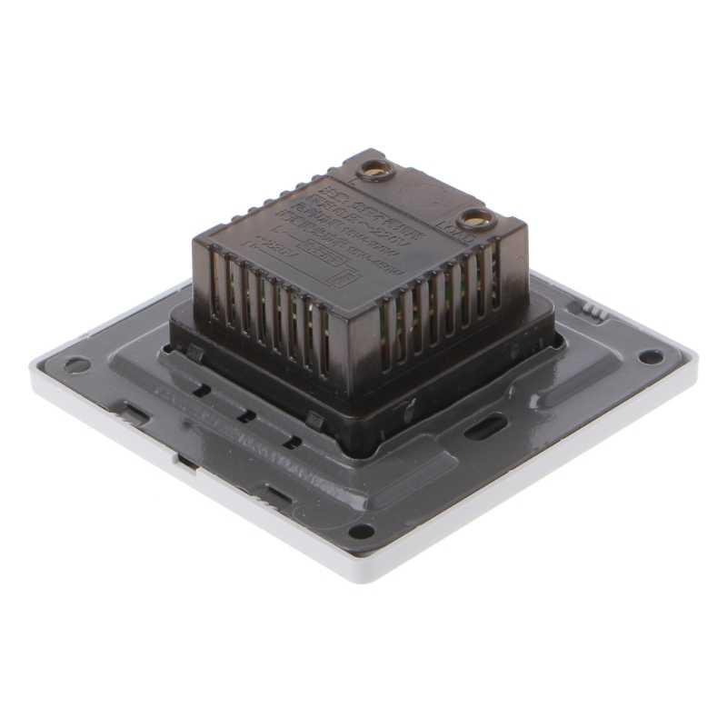 220V 200W ayar tavan vantilatörü hız kontrol anahtarı duvar düğmesi Dimmer anahtarı