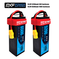 DXF 4S Lipo батарея жесткий чехол 14 8 V 6500mAh 100C/5200mah 50C 200C AKKU для 1:8 1:10 RC автомобиль E Багги Truggy Грузовик Лодка