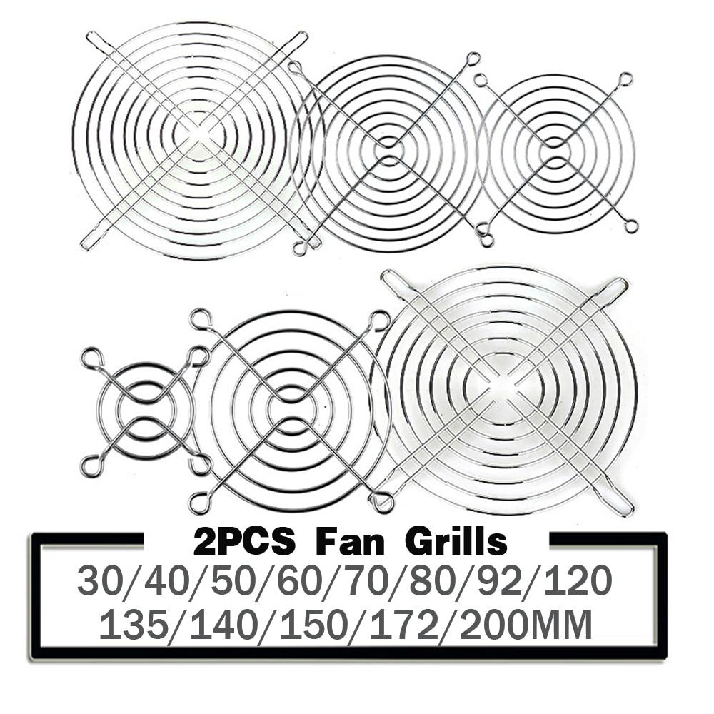 70mm Iron Net Fan Cover CPU Fan Grill Computer Cooling Fan 70x70mm For AC//DC USA