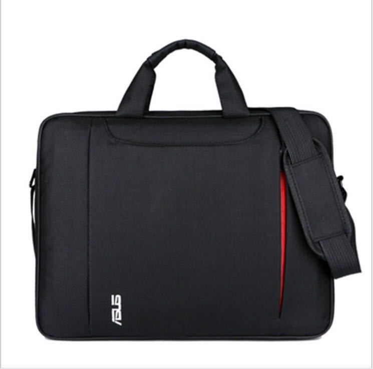 Manufacturers New Style Asus Computer Bag Thick Waterproof 15.6 Inch Men And Women Hand Laptop Bag Cross-body Shoulder Bag