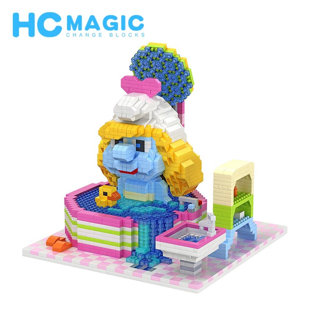 HC magique diamant blocs de construction Elf Anime bricolage Figurines gros jouets loisirs éducatifs cadeaux Action en plastique modèle d'assemblage