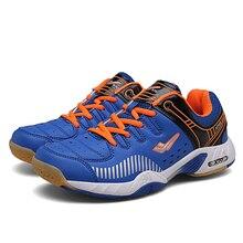 Профессиональная Обувь для бадминтона для мужчин и женщин, Нескользящие теннисные кроссовки для бадминтона, дышащие кроссовки для настольного тенниса