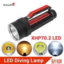 Высокий люмен светодиодный светильник xhp702 дайвинг вспышка