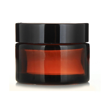 1Pcs 5g 10g 15g 20g 30g 50g Amber Glass Facial Cream Empty Jar Cosmetic Sample Container Travel Refillable Bottles Pot 30pcs 10g 20g 30g 50g plastic empty makeup jar pot refillable sample bottles travel face cream lotion cosmetic container white