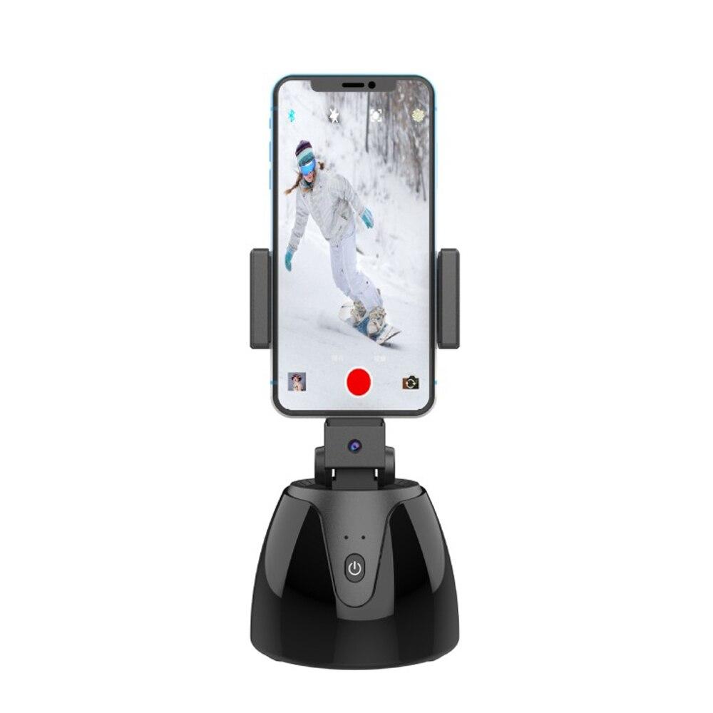 1Pcs APAI GENIE II 360° Rotation Smart Selfie Stick Auto Face Object Tracking Camera Tripod Holder Smart Shooting Phone Mount