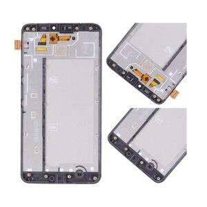 Image 4 - Ban Đầu Dành Cho NOKIA Microsoft Lumia 640 XL LCD Bộ Số Hóa Cảm Ứng Dành Cho Nokia 640xl Màn Hình Hiển Thị Với FrameRM 1068 RM 1066