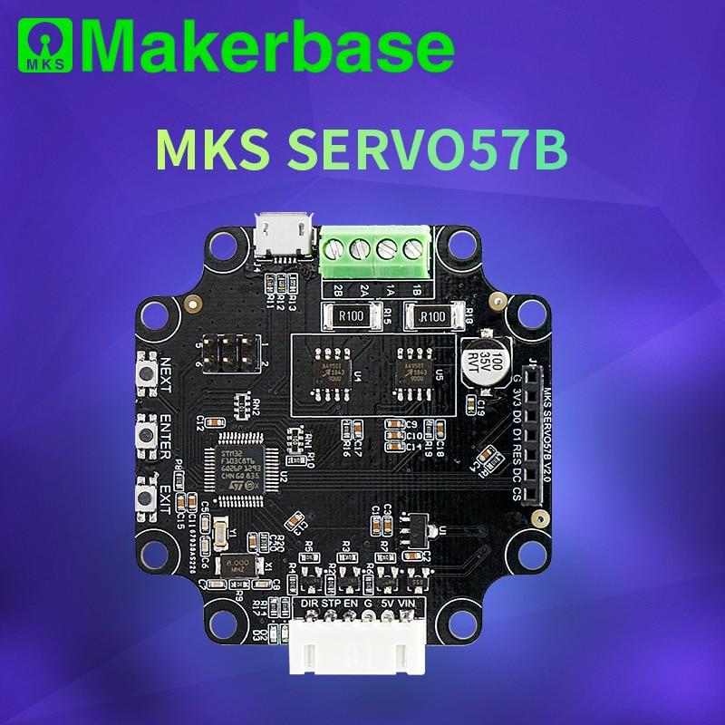Makerbase MKS SERVO57B NEMA23 STM32 closed loop stepper motor Driver CNC 3d printer parts prevents losing steps for Gen L SGen L
