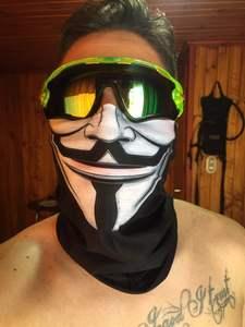 Tube Scarf Bandana Balaclava Motorcycle-Face-Mask Punishers-Neck-Gaiter Cycling Face Shiled