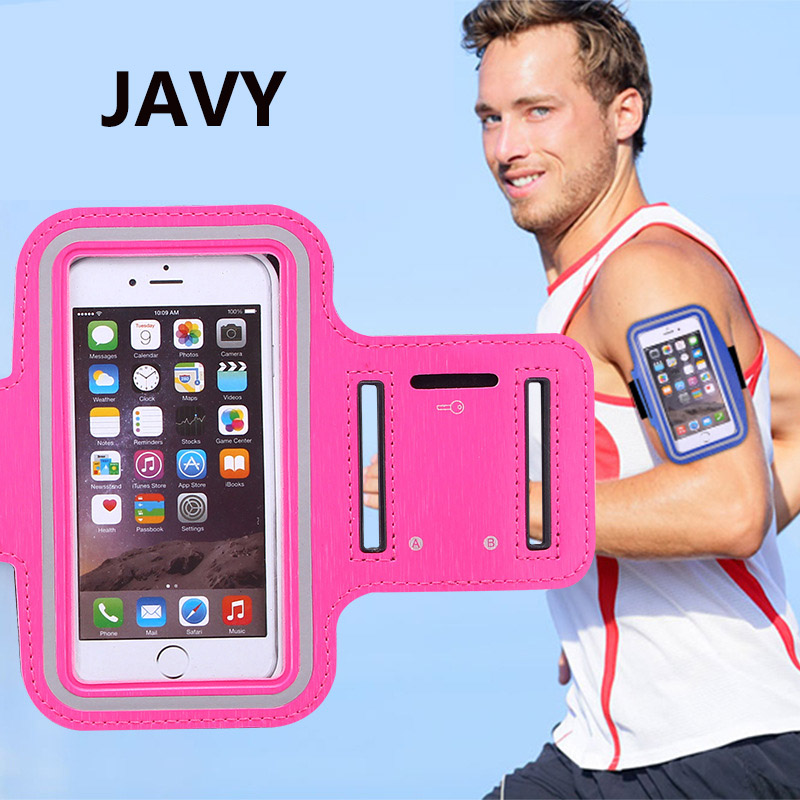 Чехол для телефона JAVY 4,7 дюйма, повязка на руку для IPhone 8, 7, 6 s, 6, спортивный чехол на ремне, сумка для бега, тренажерного зала, сумка для Samsung S3, S4...