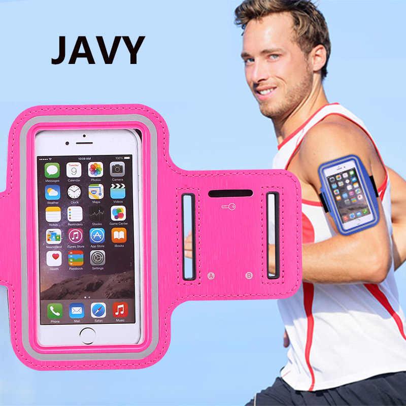 Javy 4.7 インチ電話ケースアームバンド iphone 8 7 6s 6 スポーツ腕章ベルトカバージムサメサムスン S3 S4 S5