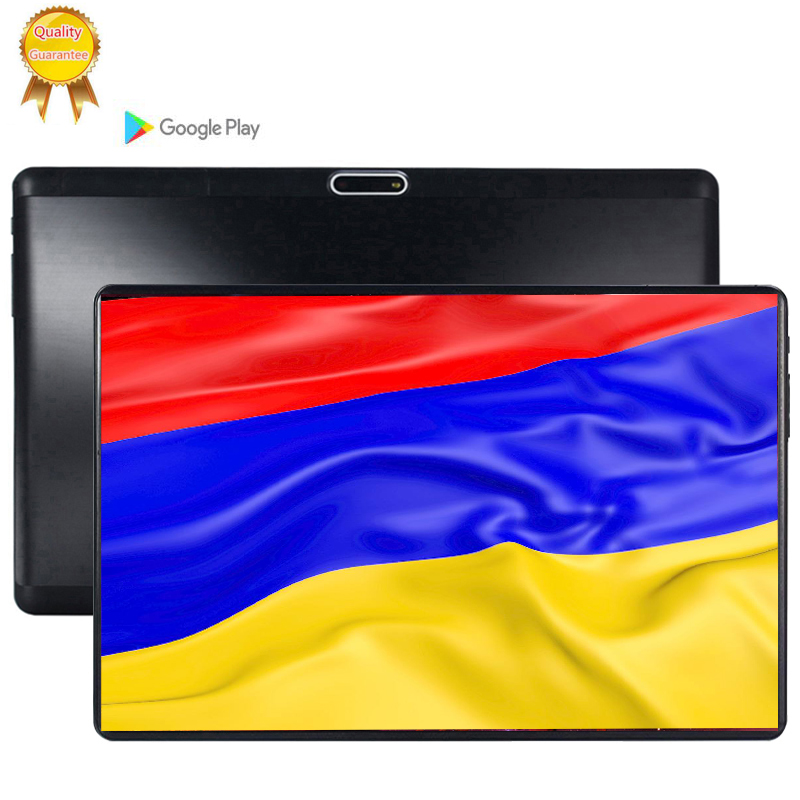 64Gb IPS Glass Screen 10.1 Inch 2.5d Screen 4G LTE Android 9.0 Tablet Pc 8 Octa Core 6GB RAM 4g Lte ROM 8MP Camera Tablets Phone