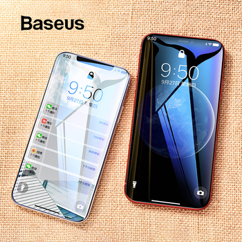 Baseus 0.23mm Thin Screen Protector For iPhone Xs Xs Max XR 2018 Glass 3D Tempered Glass For iPhone Xs Protective Glass Film