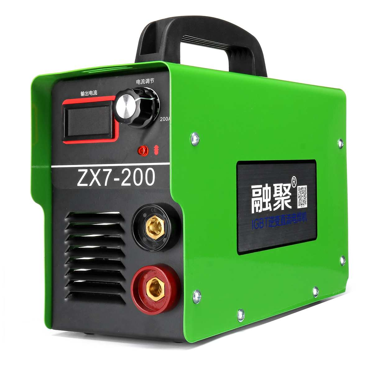 220V 20A-200A 4000W Handheld Portable MINI IGBT ARC Welding Machine Semi-Automatic Inverter LCD Soldering Welder Tool