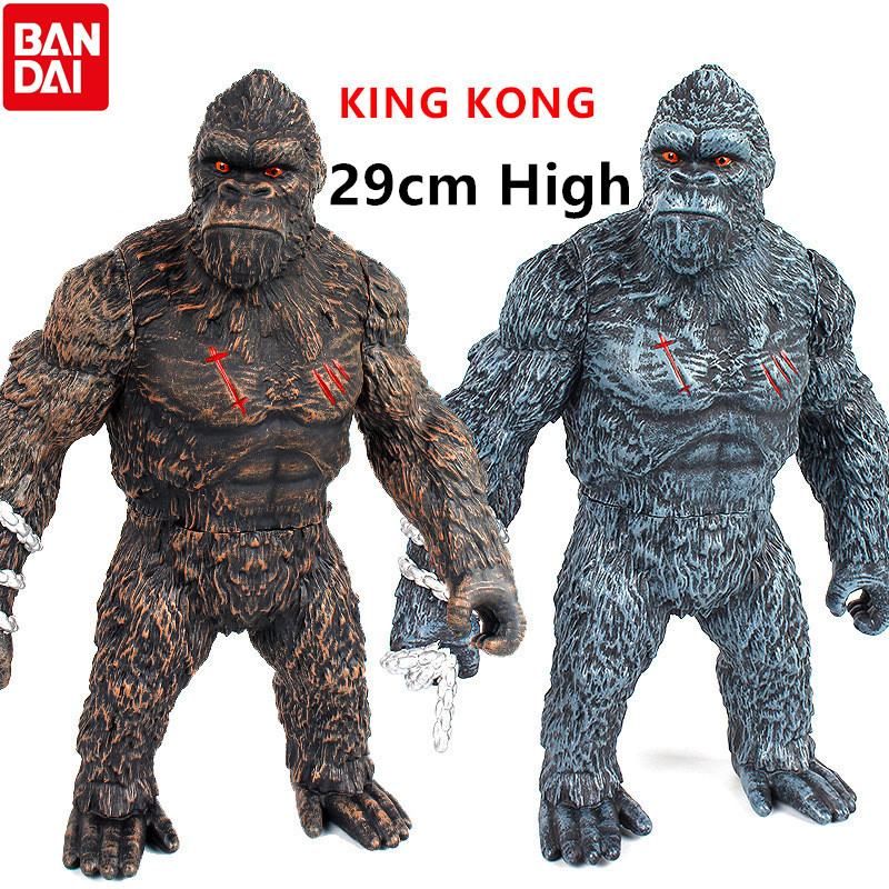 29cm King Kong 2Styles Figure 2021 Movie PVC Action Figure Model Collection Toy