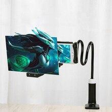 8/12 Inch Handy 3D Bildschirm Verstärker Vergrößerungs für Smartphone Faul Halter Hd Projektion Amplificador De Pantalla Halterung
