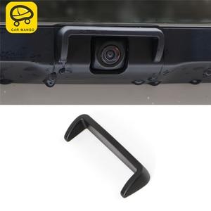 Carманго для Lexus ES 2018 2019 ES200 ES300 ES260 Автомобильная задняя камера заднего вида дождевой козырек накладка рамка наклейка аксессуары