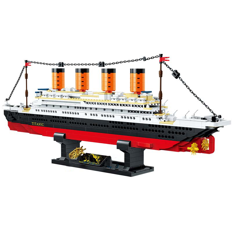 Yeshin 21317 The Titanic RMS Cruise Boat Ship Model