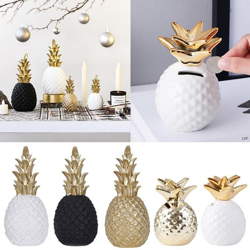 Nordic INS Creative Golden Pineapple Decoration Living Room TV Cabinet Desktop Decoration Home Sccessories Bedroom Furnishings
