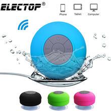 Alto-falante portátil sem fio bluetooth alto-falante impermeável do chuveiro para o telefone pc bluetooth soundbar mão livre do carro alto-falante