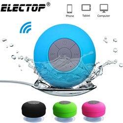 Портативная Bluetooth-колонка, беспроводная водонепроницаемая душевая Колонка s для телефона, ПК, Bluetooth-звуковая панель, автомобильная Колонка б...