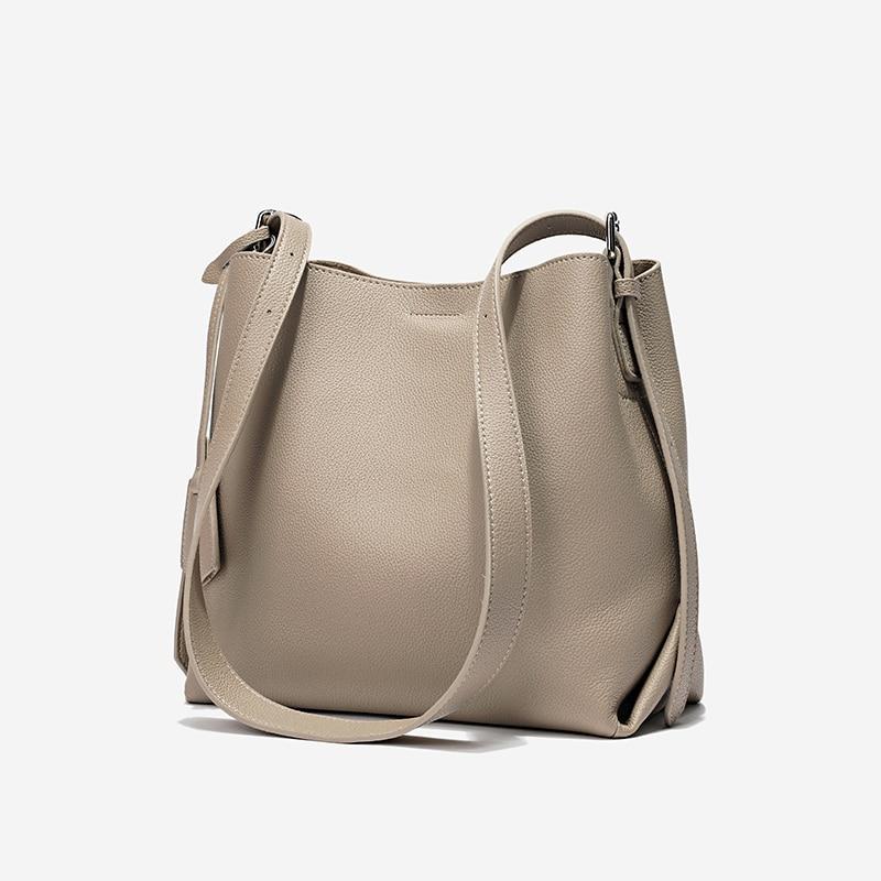 Genuine Leather Women Handbag High Quality Fashion Ladies Shoulder Bag Crossbody Bag Casual Tote Bag
