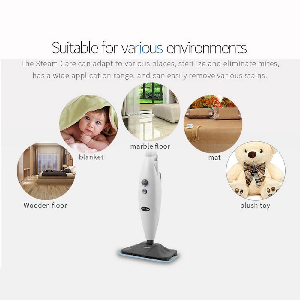 Паровое сокровище дома высокая температура Паровая очистка Швабра стерилизация удаление пароочиститель Электрическая Швабра не Беспроводная - 2
