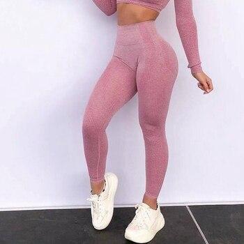 12 colours Women's Seamless Fitness Leggings Female High Waist Running Sports Leggings Sportswear Gym Yoga Sport Pants clothing 9