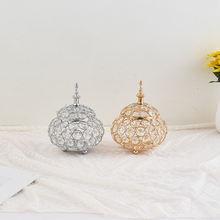 Imuwen хрустальный шар подсвечник Ювелирная коробка свадебный