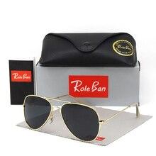 Aviation FAMOUS BRAND DESIGN Classic Sunglasses Men Women Driving Pilot Frame Su
