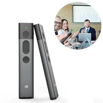 2.4GHz PPT Wireless Presenter RF Wireless Remote Control Doosl Green Laser Pointer Powerpoint Pen Clicker Controller