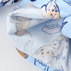 Image 5 - home suit Cotton Women Pajama Sets Cute Cartoon Dog Pyjamas Women Couples Sleepwear Casual Soft Female Suit Pijama Mujer