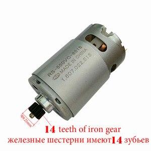 Image 1 - Onpo 10.8 v 14 歯 RS 550VC 8518 dewalt 交換用の dc モータ DCD710 電気ドリル cordles ドライバーのメンテナンススペアパーツ