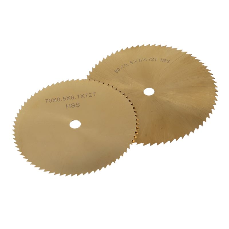 70/80mm HSS Circular Saw Blade Metal Woodworking Plastic Cutting Grinding Disc
