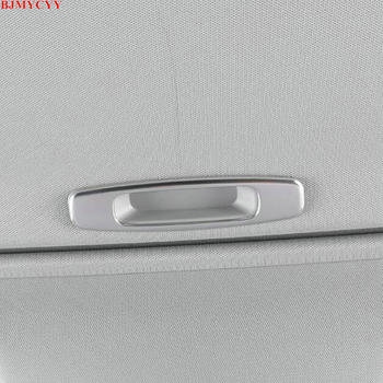 BJMYCYY Automobile skylight handle stainless steel decorative frame for Toyota camry XV70 2018 2019 2020 accessories image