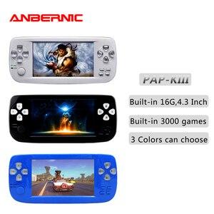 Портативная портативная игровая консоль ANBERNIC, 64-битная флеш-видео игровая консоль Juego для видеоигр PAP KIII/K3 Plus, детский подарок 07, ретро-игра