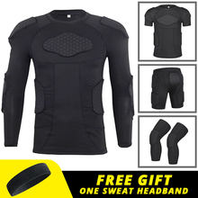 Armure de protection pour Moto, sous-vêtements pour hommes, veste de Moto, pantalon de Base pour Motocross, combinaison d'équipement de protection pour le corps