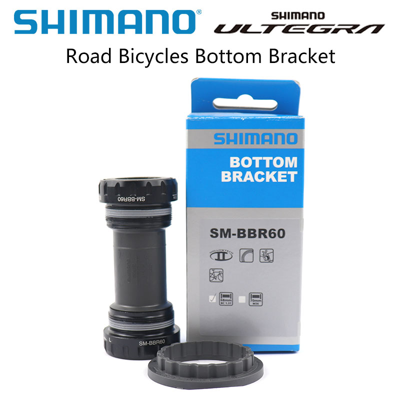 Shimano Ultegra SM BBR60 Road Bicycles Bottom Bracket 68mm BBR60 ROAD Bike Bottom Shimano genuine goods bike accessories|Bottom Brackets| |  - title=