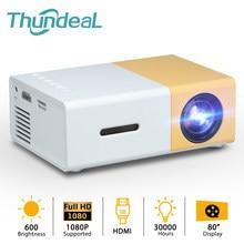 Mais barato yg300 mini projetor led para 1080p vídeo beamer transporte da gota YG-300 yg310 projetor portátil casa media player de vídeo