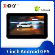 Xgody GPS Android 7 zoll Navigator Auto Gps Navigation Lkw Bluetooth mit Kamera Sat Nav 2020 Amerika Europa Karte Touch bildschirm