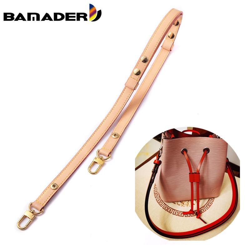 BAMADER Adjustable Snap Design Bag Strap Bucket Bag Shoulder Diagonal Bag Replacement Strap Fashion High Quality Bag Accessories